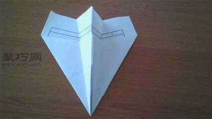 纸飞机折法 最简单的纸飞机的折叠方法图解教程