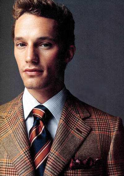 男人选领带有这4条就够了 领带网